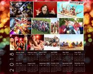 calendar poster template