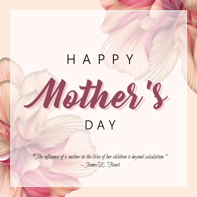 """Mother's Day Celebration Template"" Logo"