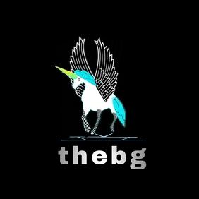 """thebg"" Unicorn Logo"