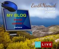 #picoftheday #blog #blogger #virtual youtube Rectángulo Grande template