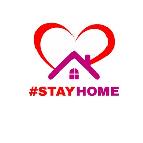 #stay home logo