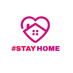 #stayhome logo