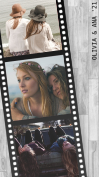 'Throwback' Film Collage Isimo se-WhatsApp template