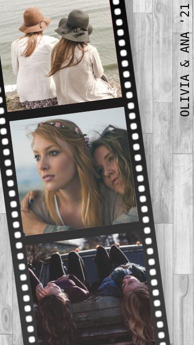 'Throwback' Film Collage Status WhatsApp template