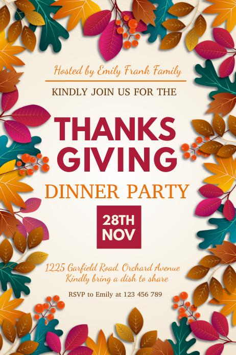 ]thanksgiving, thanksgiving sale, turkey Plakat template