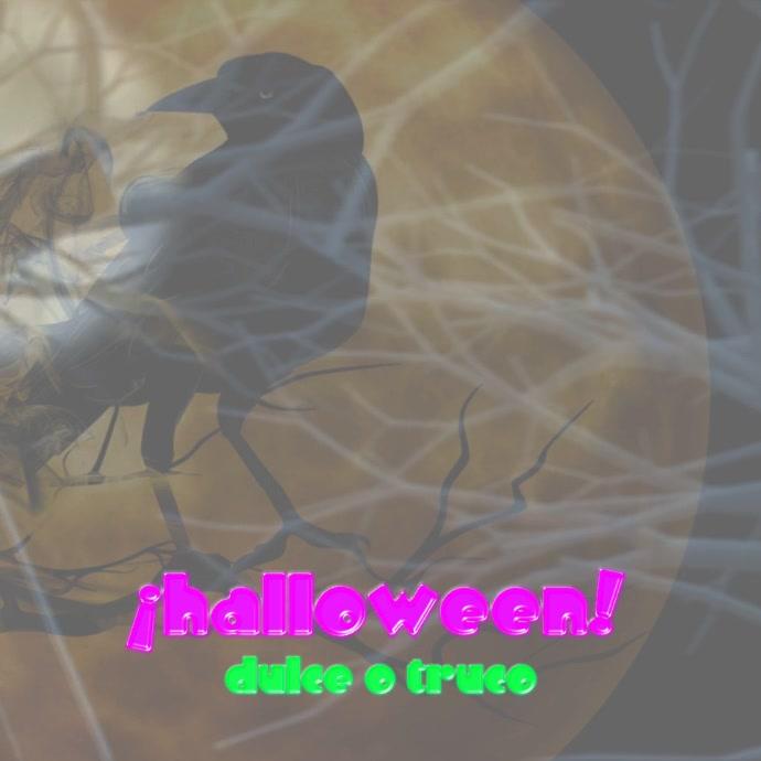 ¡halloween! Publicação no Instagram template