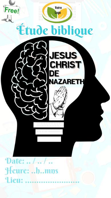 Étude Biblique WhatsAppstatus template