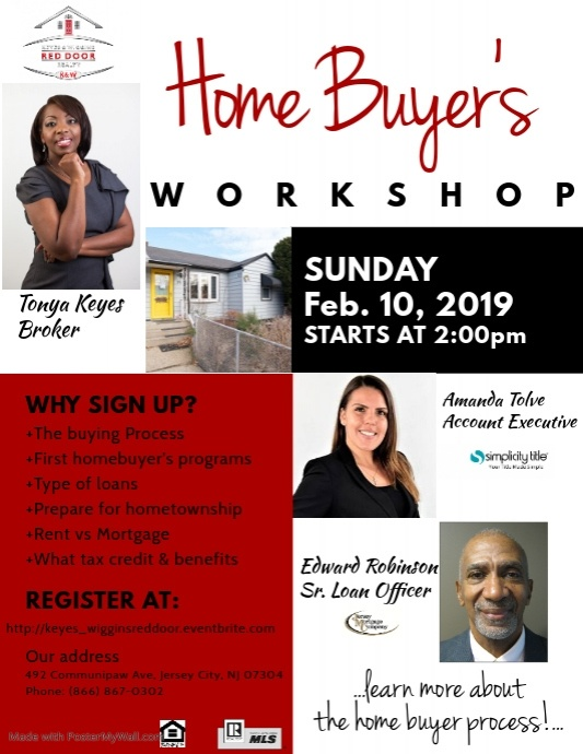 Copy of Home Buyer's Seminar Flyer