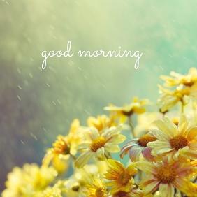 01 Good Morning Pos Instagram template