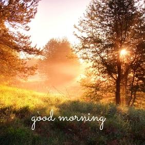 02 Good Morning Pos Instagram template