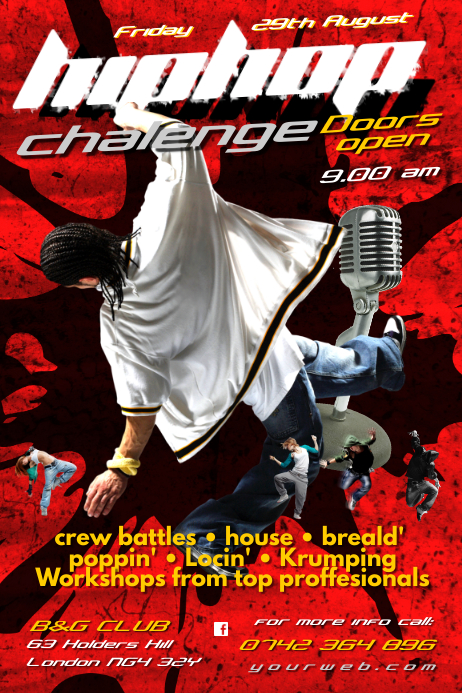 Hip Hop Challenge poster