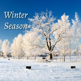 03 Winter Season Pos Instagram template