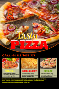 Customizable Design Templates for Pizza | PosterMyWall