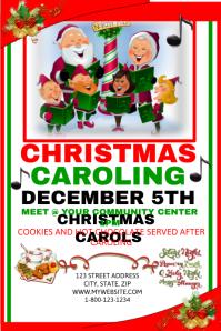 Christmas Caroling Event Template