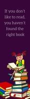 04 Bookmarks Demi-page de format Legal template