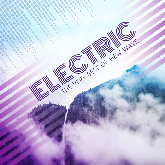 Electronic Dance Music Album Cover Template