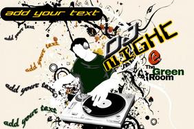 DJ Club Event Night Flyer Poster