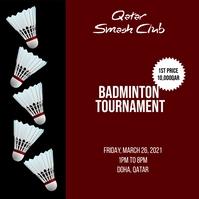 05 Badminton Instagram Plasing template