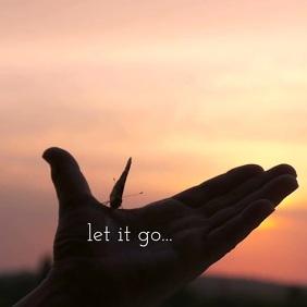 05 Let it go Instagram Post template