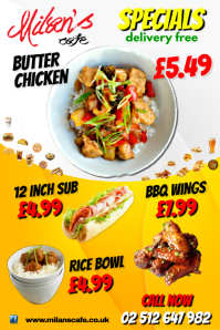 Food Special Poster