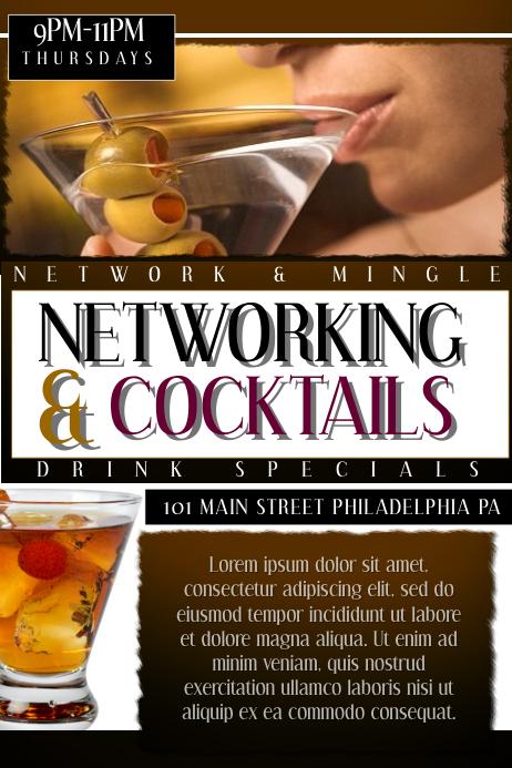 NETWORK & COCKTAILS