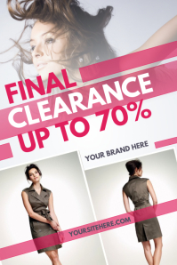 Clothing Retail Poster Template