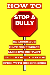 How To Stop a Bully