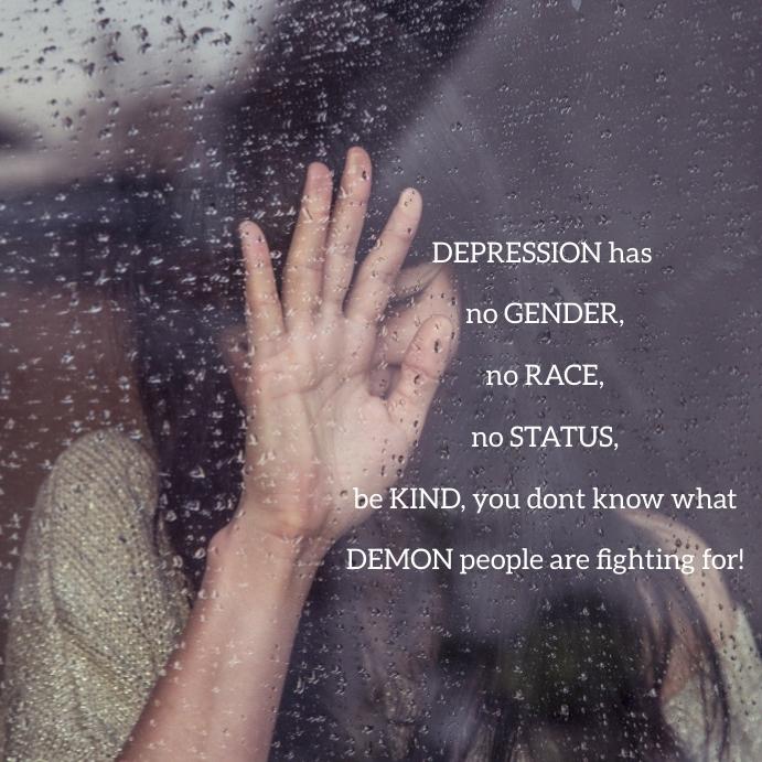 09 Depression Pos Instagram template