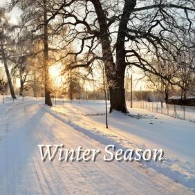 09 Winter Season Pos Instagram template
