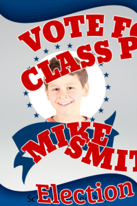 Election Campaign Poster Template