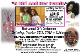 GIRLS CONFERENCE TEMPLATE
