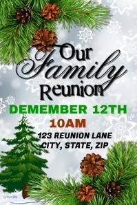 Christmas Family Reunion Template