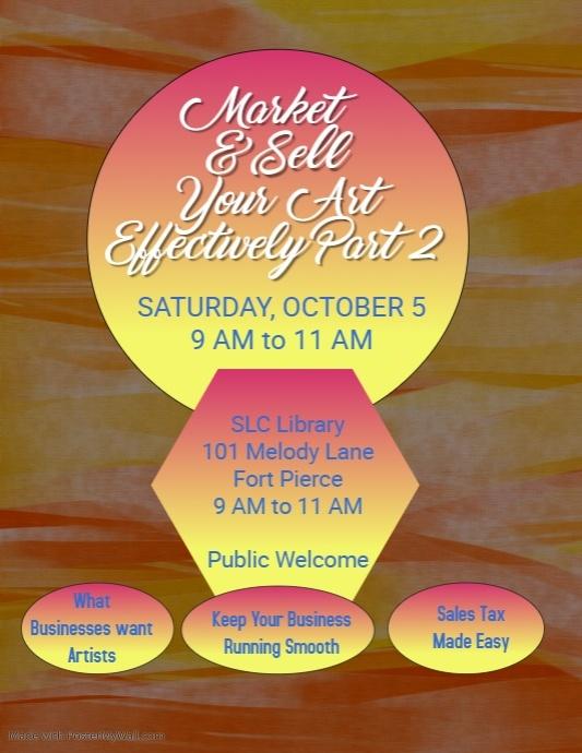 Market & Sell Your Art Website
