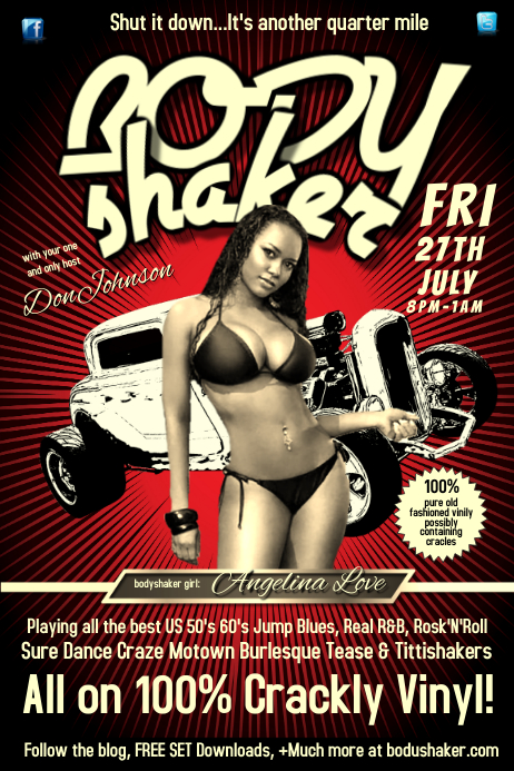 Body shaker poster