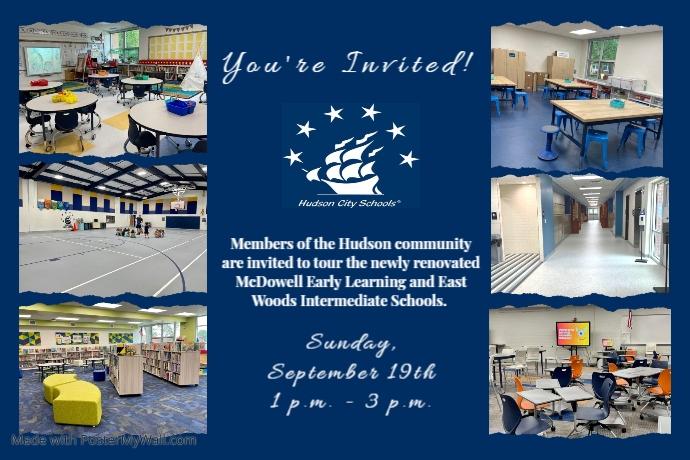 Community Invitation Poster template