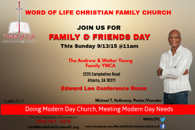 family and friends day flyer template juve cenitdelacabrera co