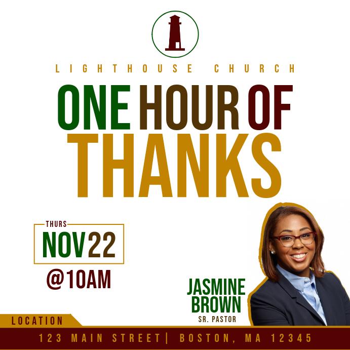 1 HR of THANKS