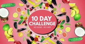 10 Days Challenge no sugar no carb fit health