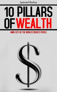 10 Pillars Of Wealth Book Cover Template Sampul Buku