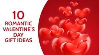 10 romantic valentine's day gift ideas YouTube 缩略图 template