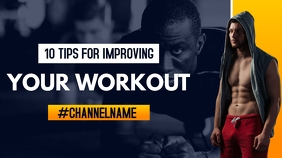 10 tips for improving yout workout youtube vi YouTube-miniature template