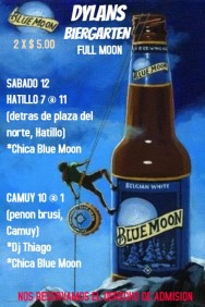 BLUE MOON HAPPY HOUR