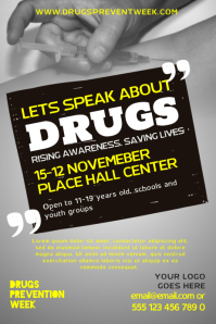 Drug Awareness Poster Template