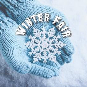 11 Winter Season Instagram-Beitrag template