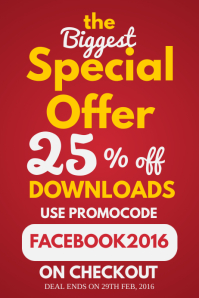 Discount Promotion Poster Template