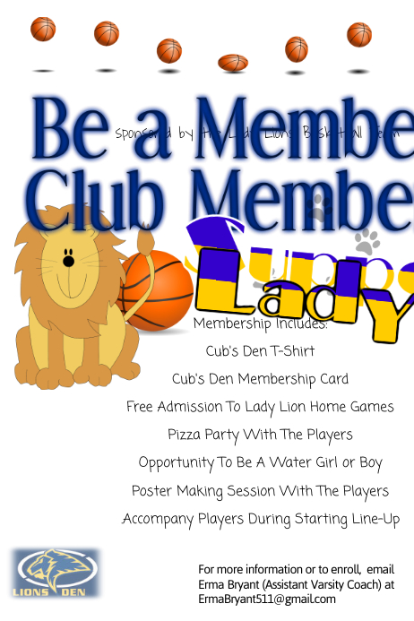 booster club flyer template postermywall