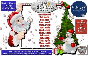 12 days of christmas with snow