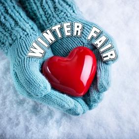 12 Winter Season Publicação no Instagram template
