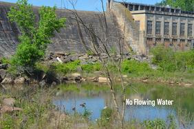 No Flowing Water
