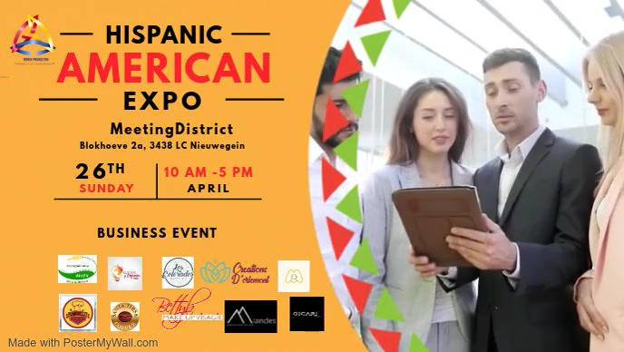 Hispanic Heritage Live Event Video template